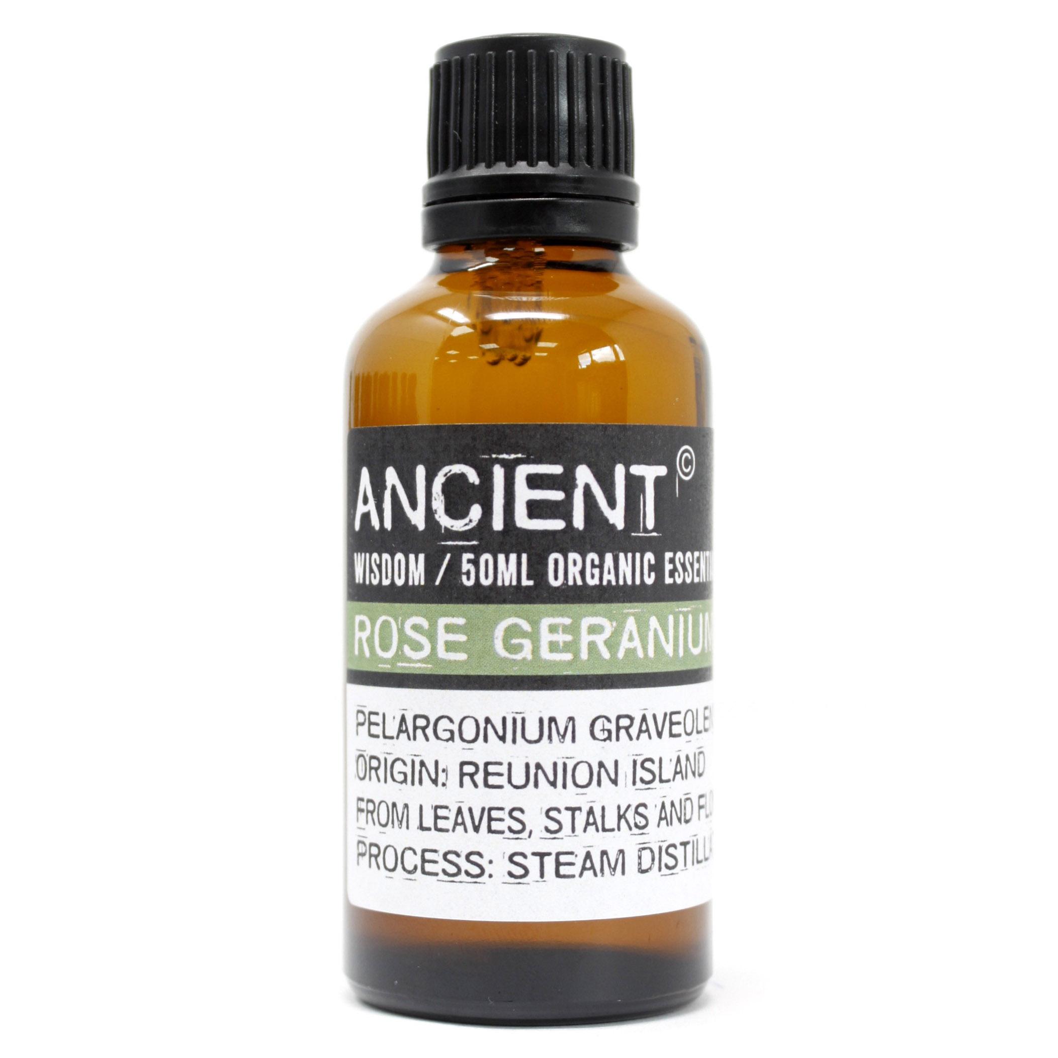 Rose Geranium Organic Essential Oil 50ml