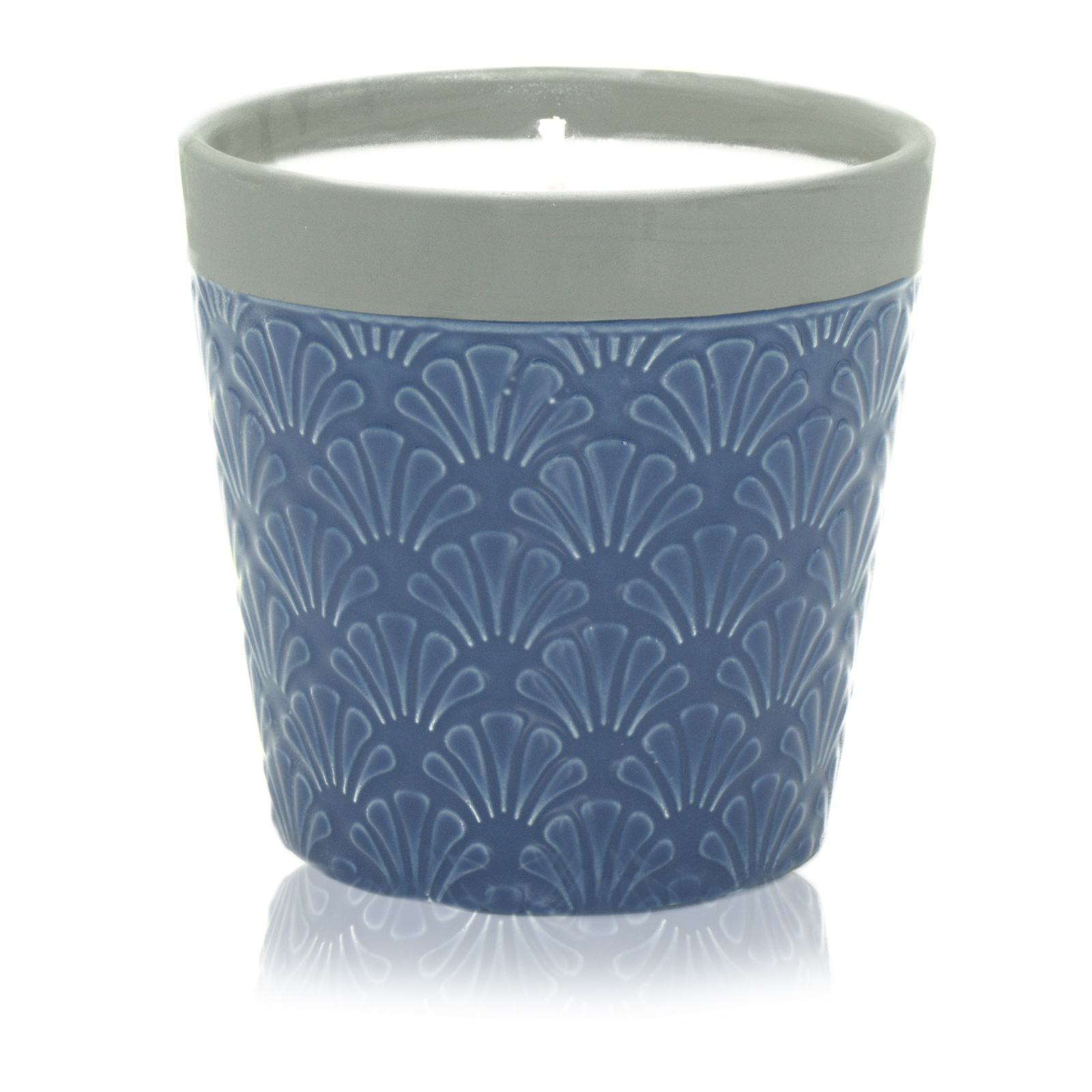 Home is Home Candle Pots Blue Day