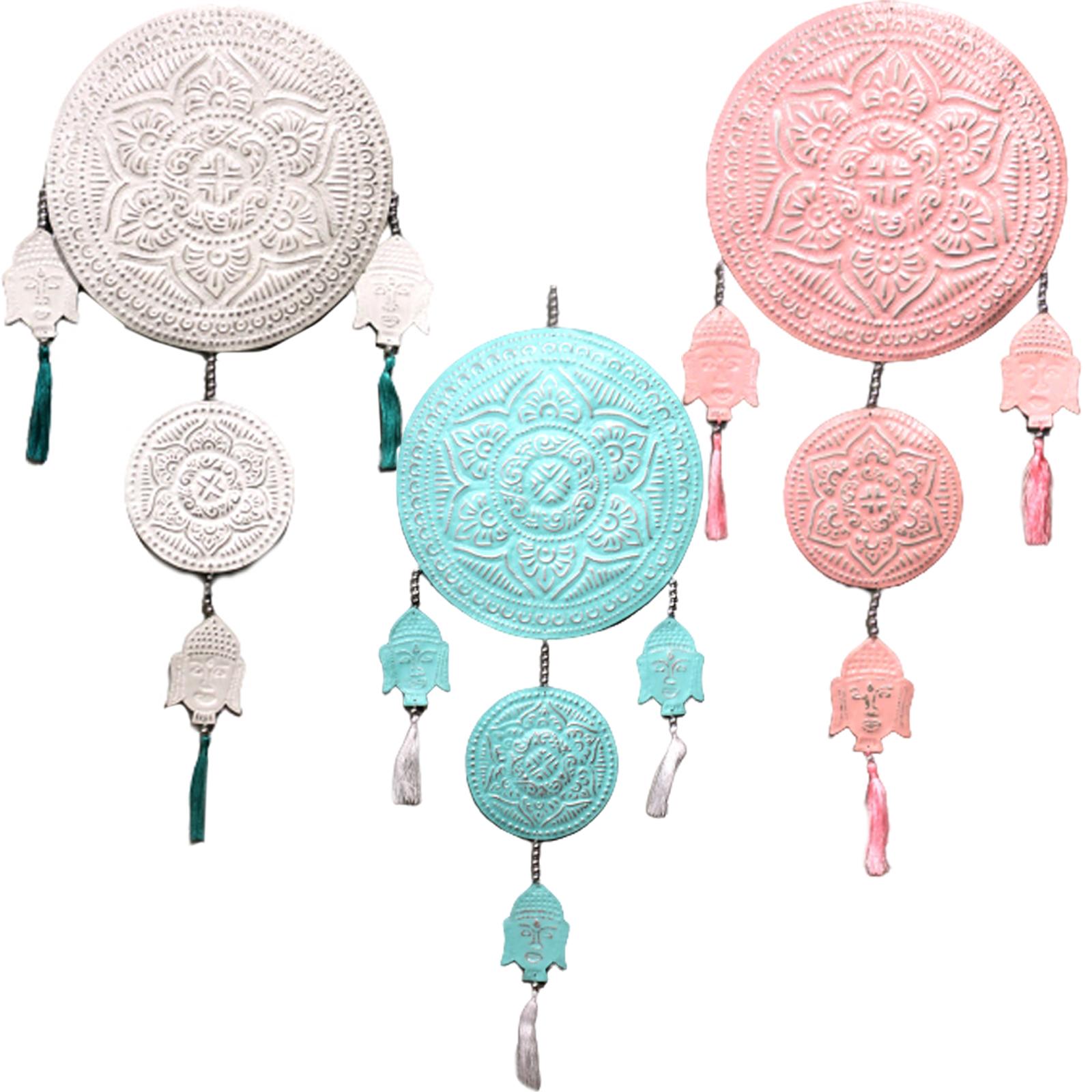 Aluminium Mobile Buddha's assorted colors