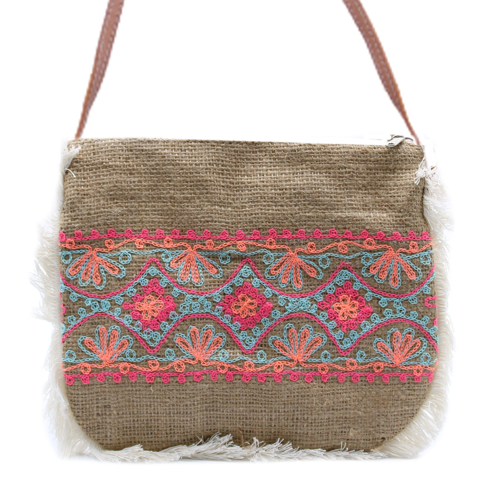 Fab Fringe Bag Summer Pattern Embroidery
