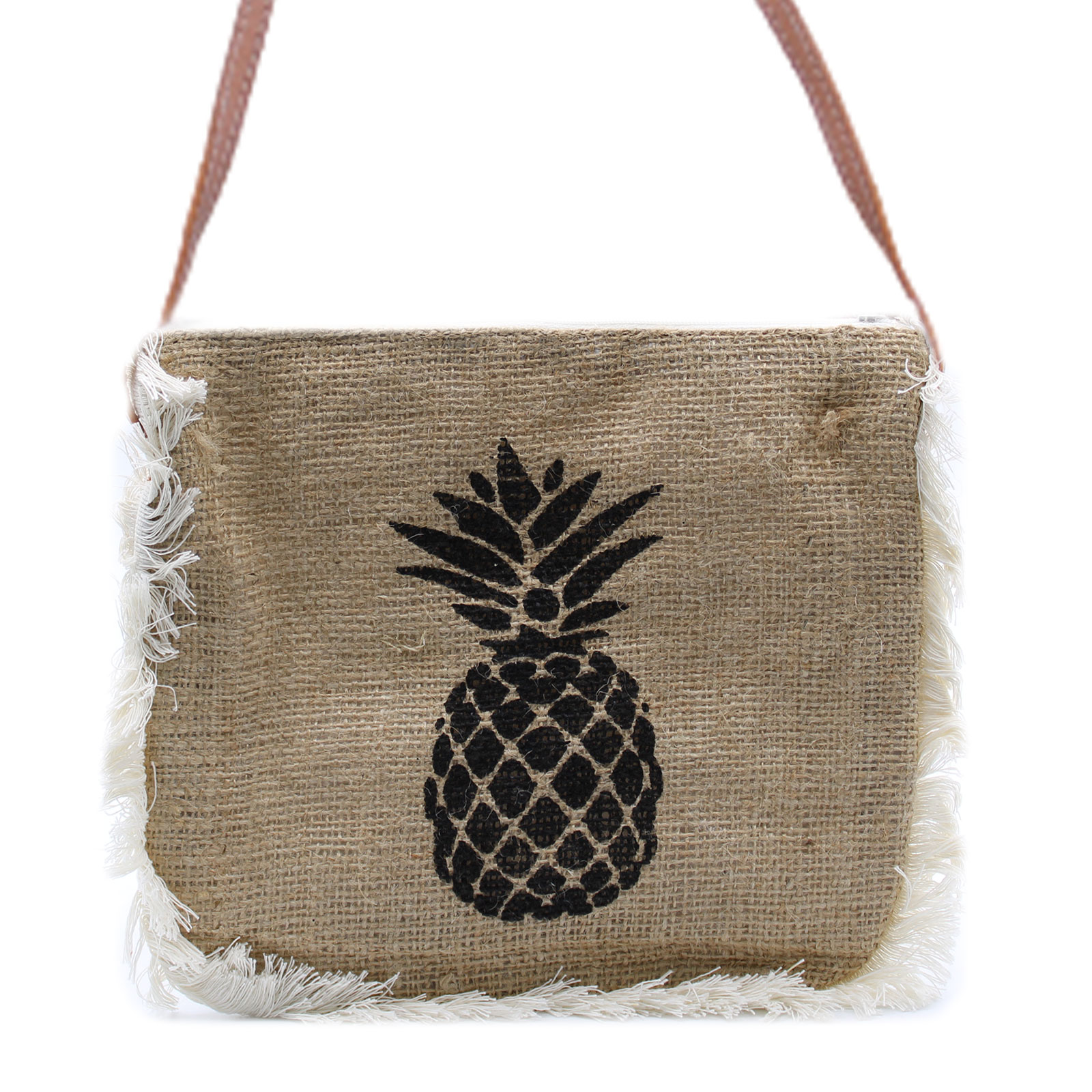 Fab Fringe Bag Pineapple Print