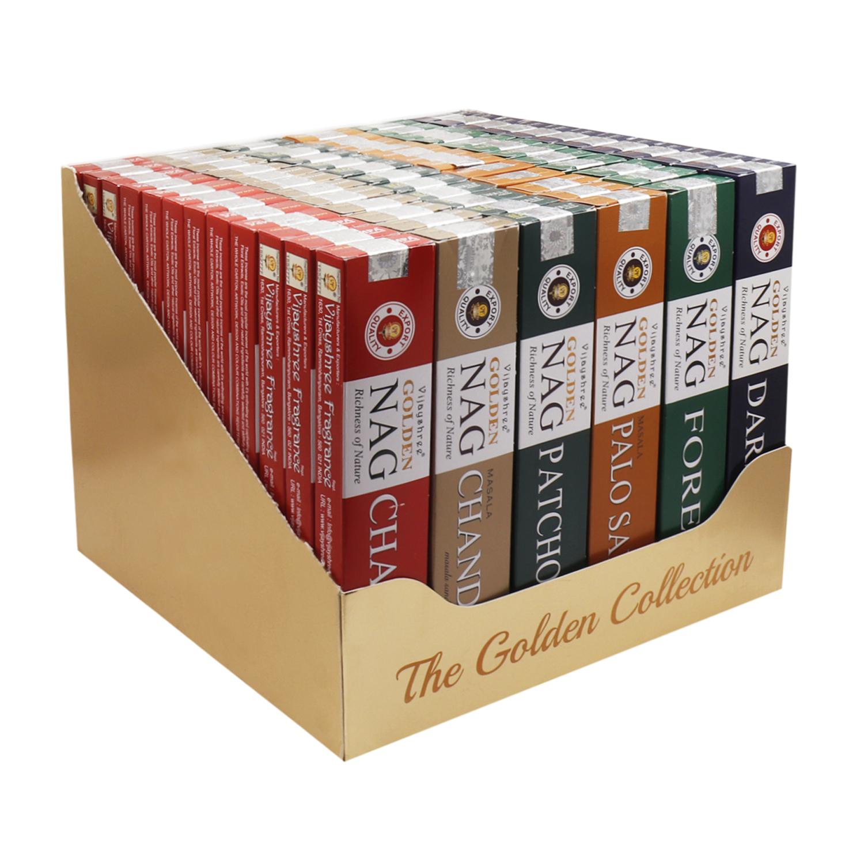 15g Golden Colletion Box 6 assorted Fragrances