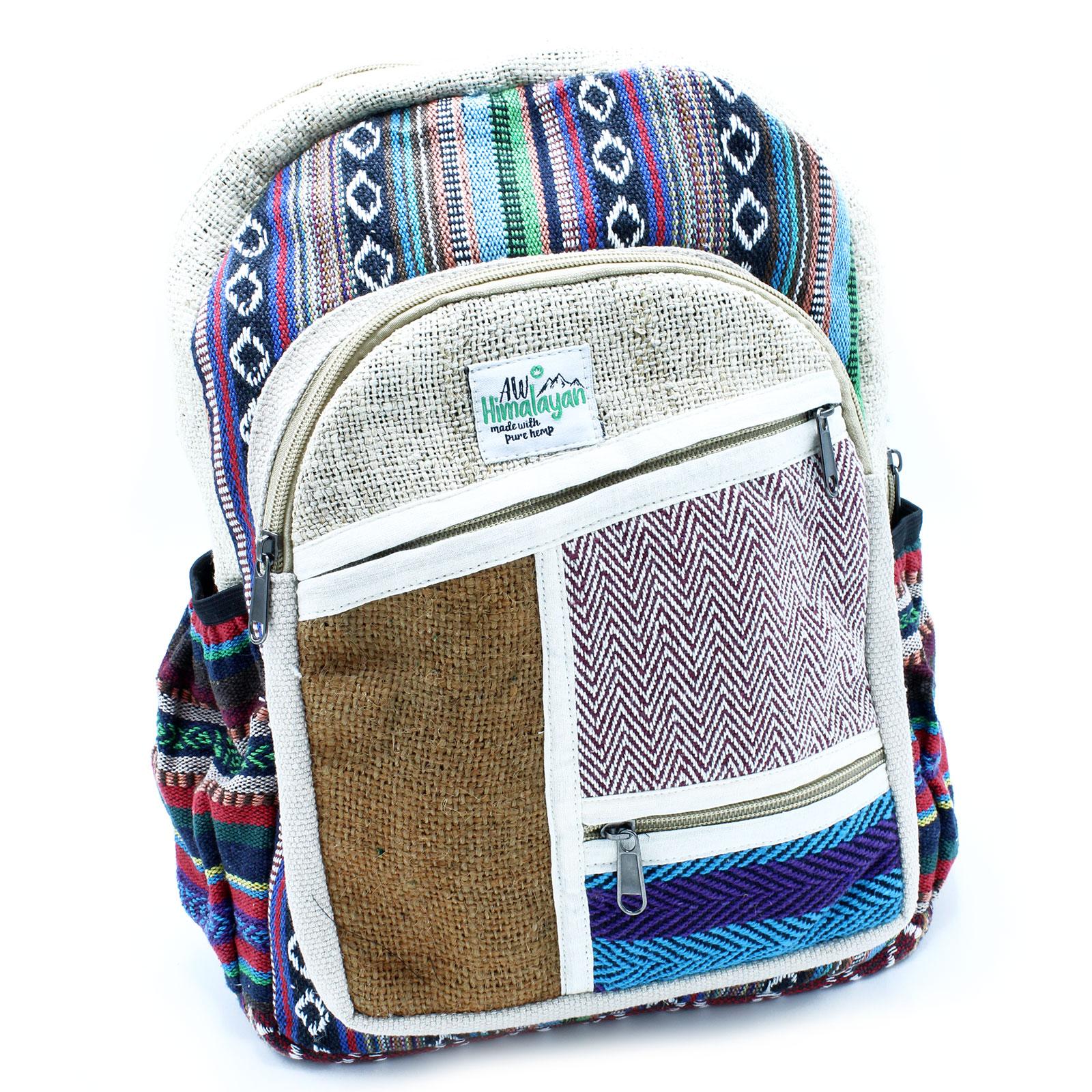 Small Backpack Zig Zag Zips Style