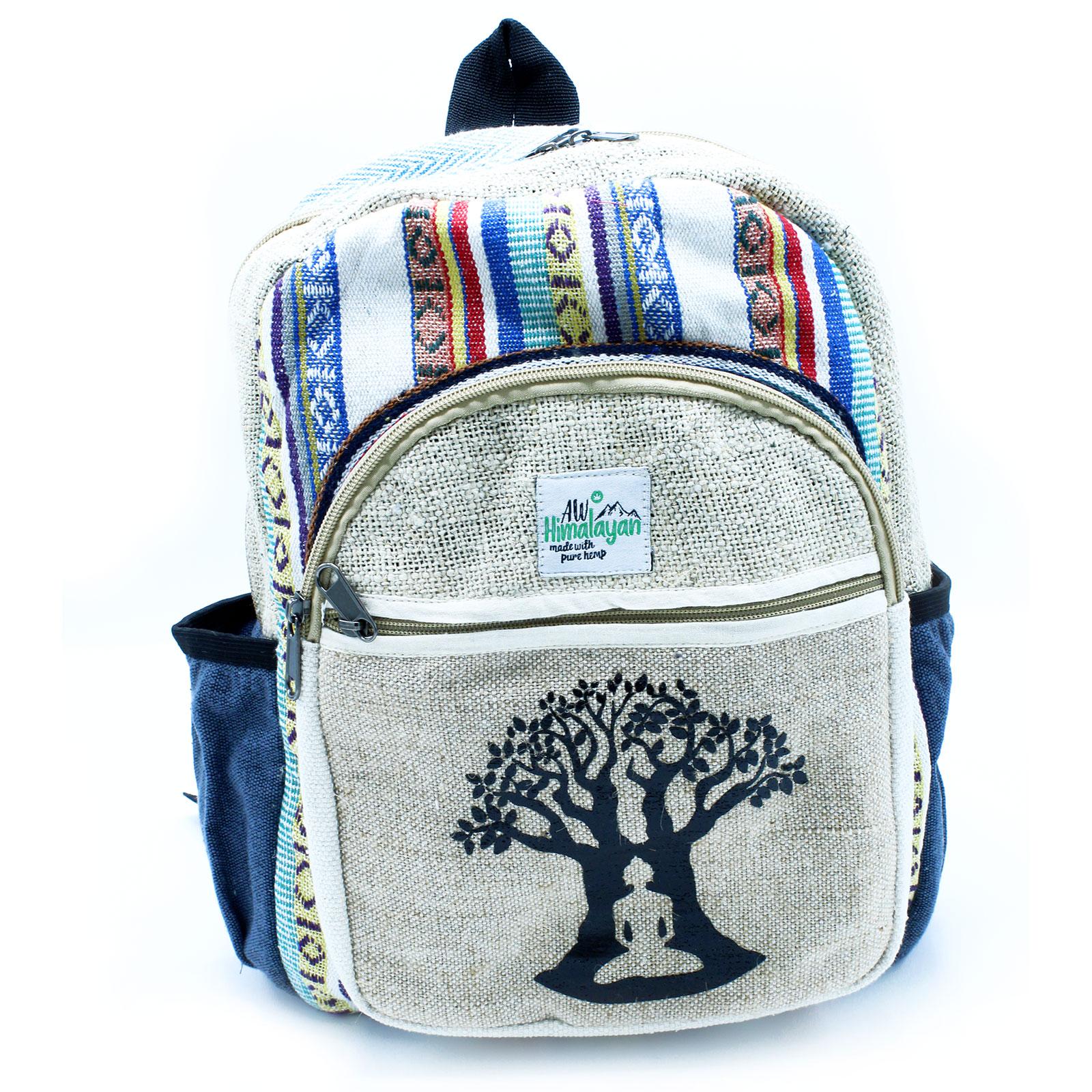 Small Backpack Bohdi Tree Design