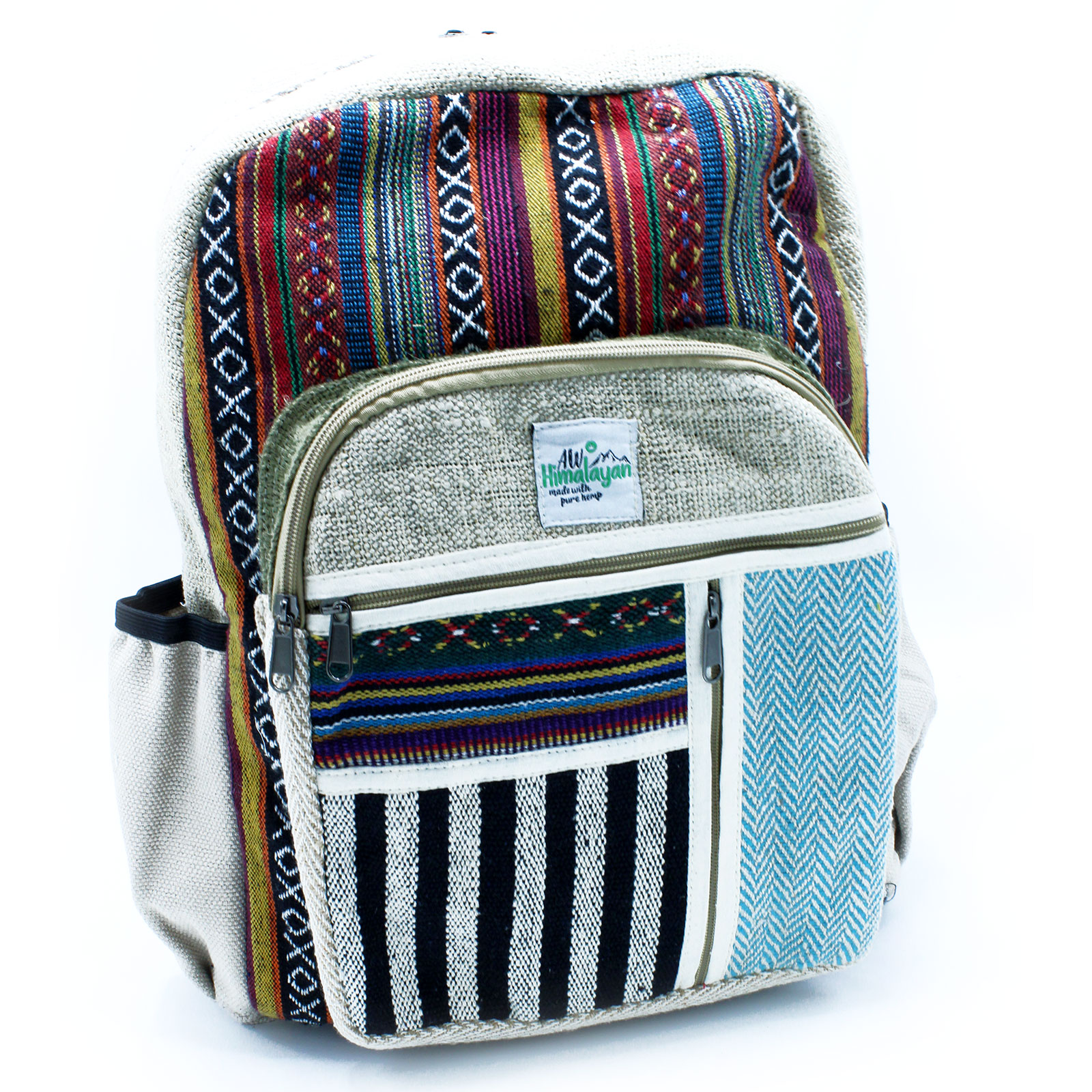Large Backpack Straight Zips Style