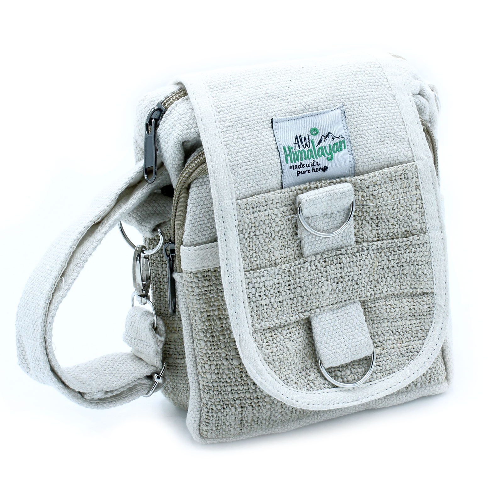 BodyCross Natural Hemp and Cotton Travel Bag