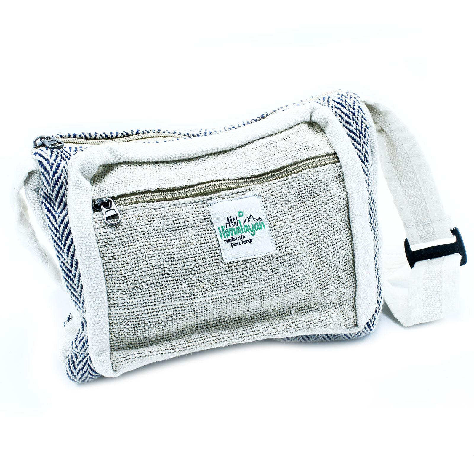 Messenger Bag Hemp   Cotton