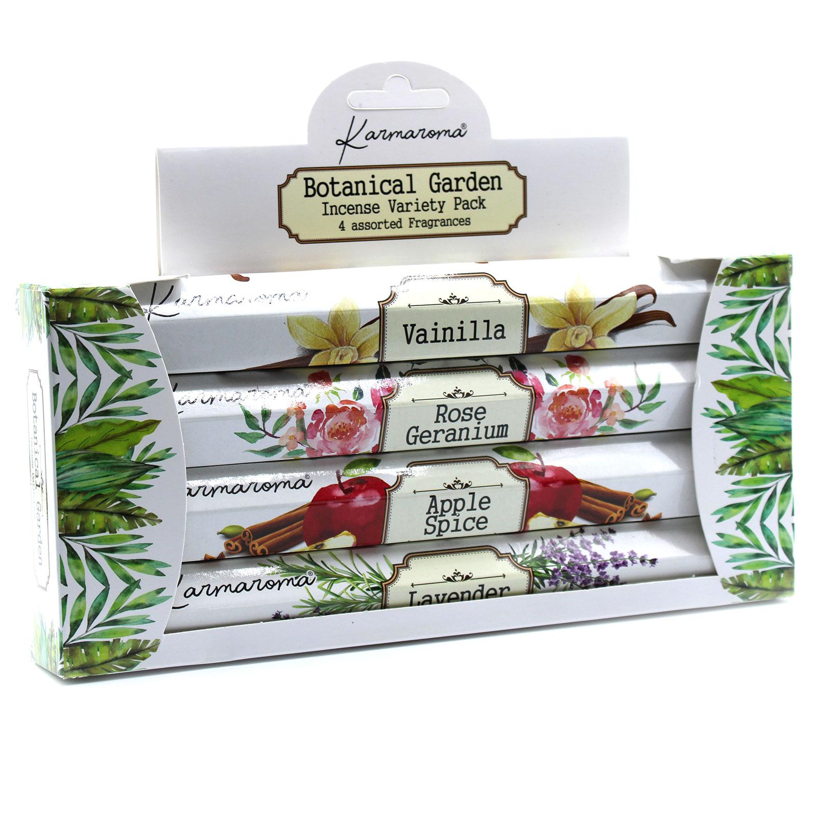 Botanical Garden Incense Gift Set 4 Assorted Fragrances