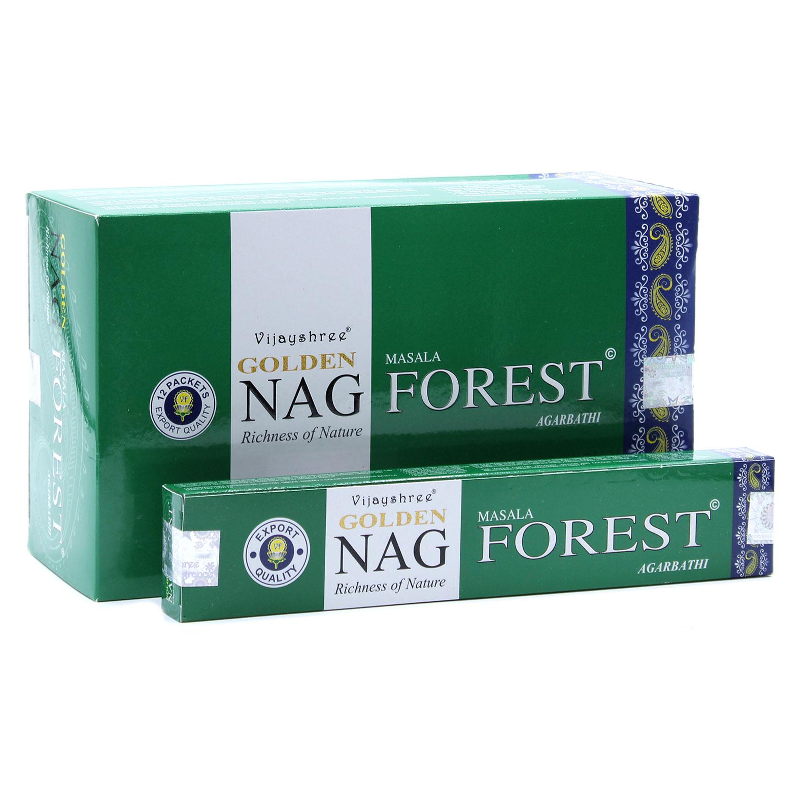 15g Golden Nag Forest Incense