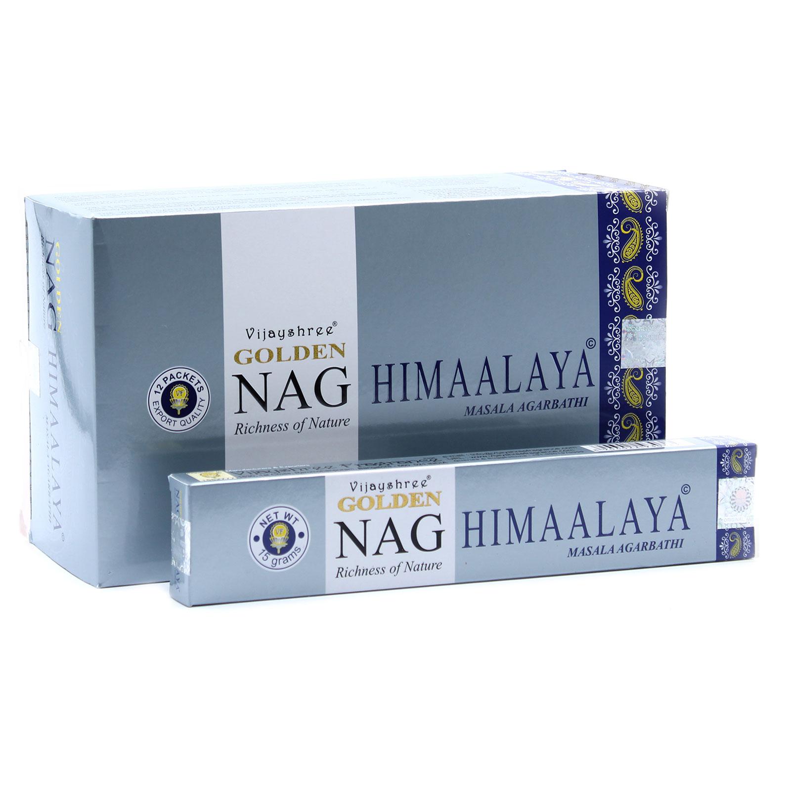 15g Golden Nag Himalaya Incense