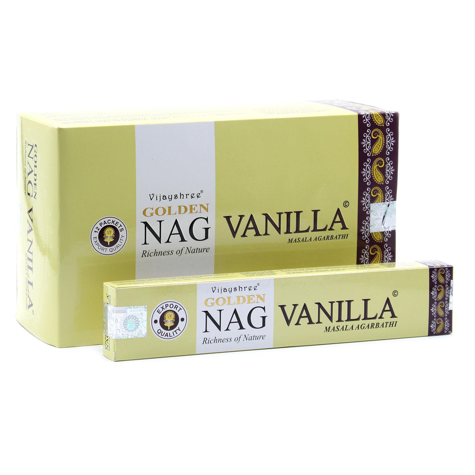 15g Golden Vanilla Incense