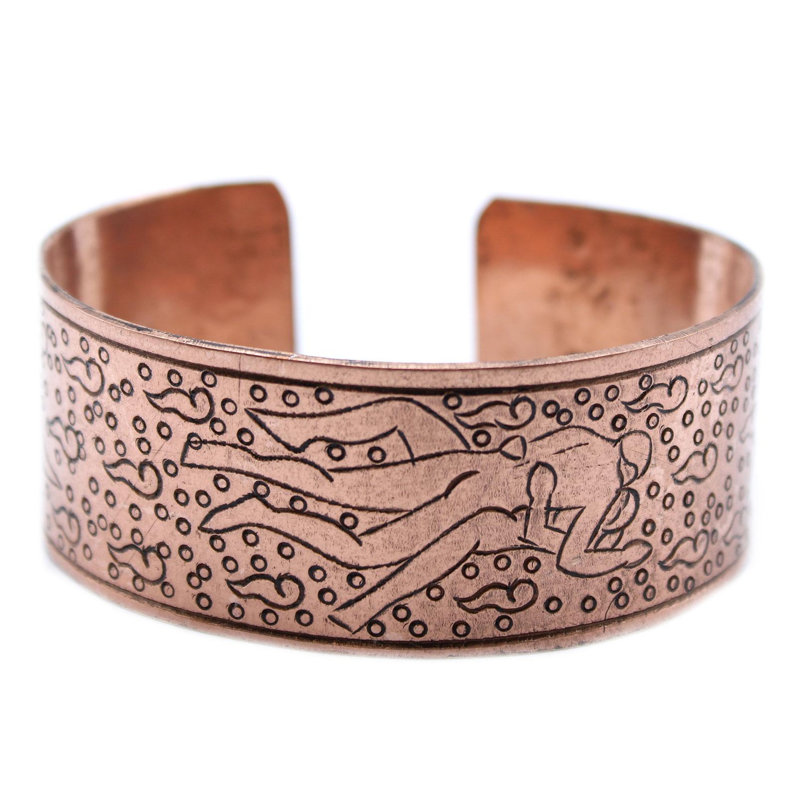 Copper Tibetan Bracelet Kamasutra
