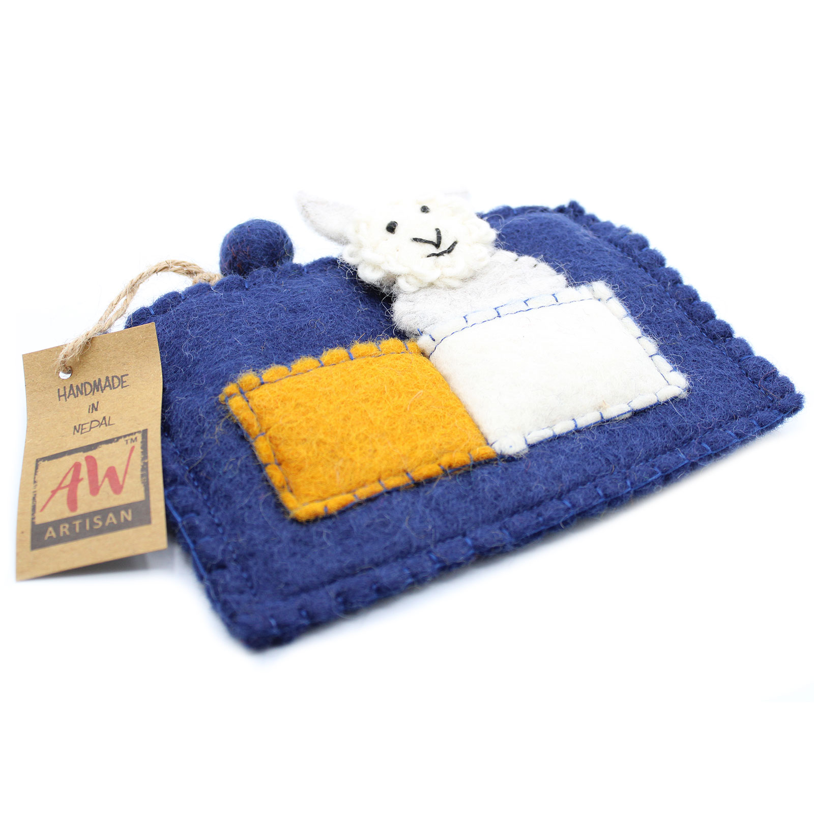 Pouch with Finger Puppets Puppy Pals