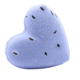 Love Heart Bath Bomb 70g French Lavender