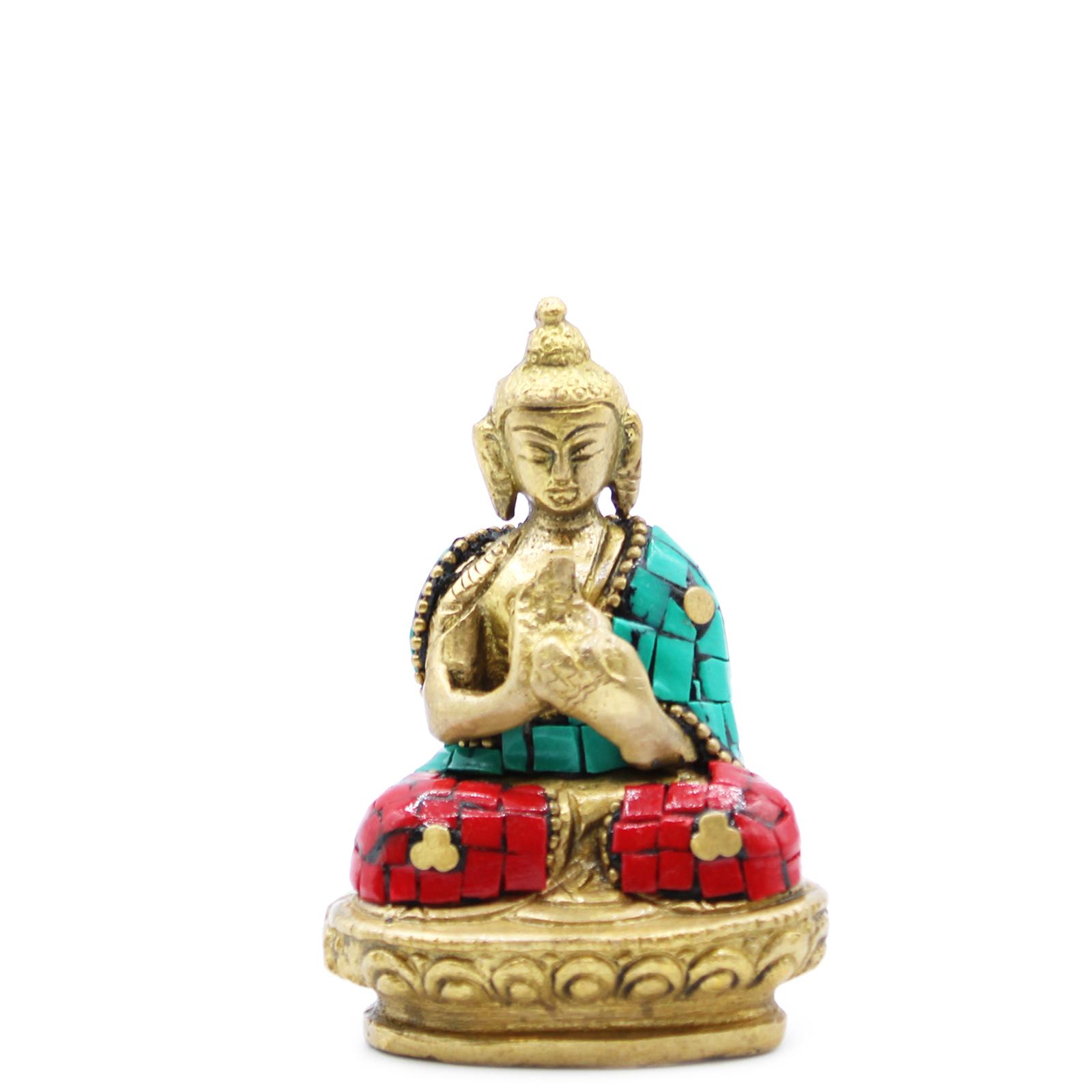 Brass Buddha Figure Blessing 75cm