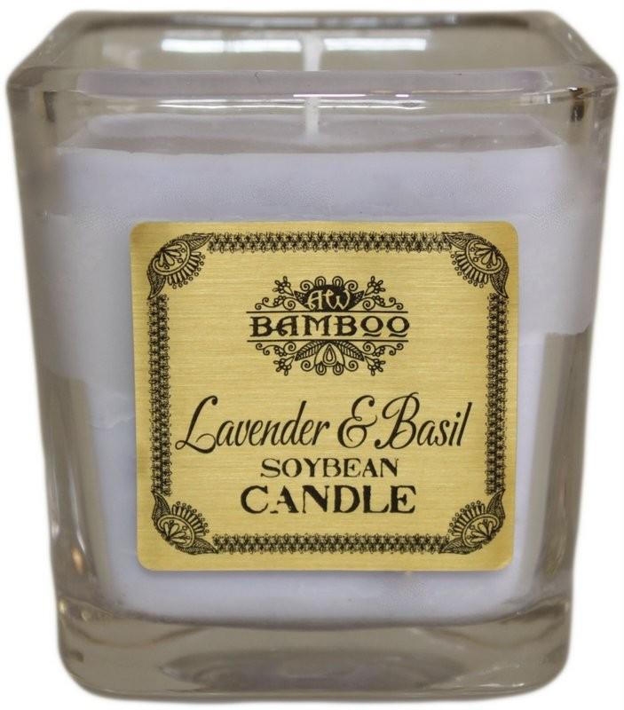 Soybean Jar Candles Lavender   Basil