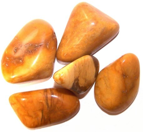L Tumble Stones Jasper Yellow