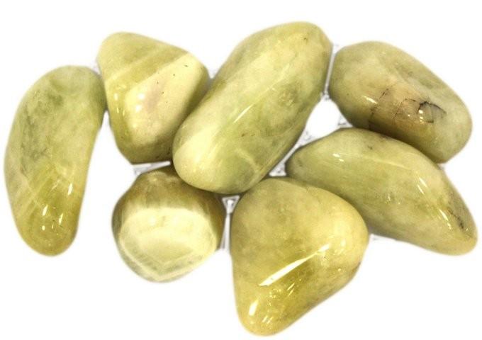 L Tumble Stones Prasiolite