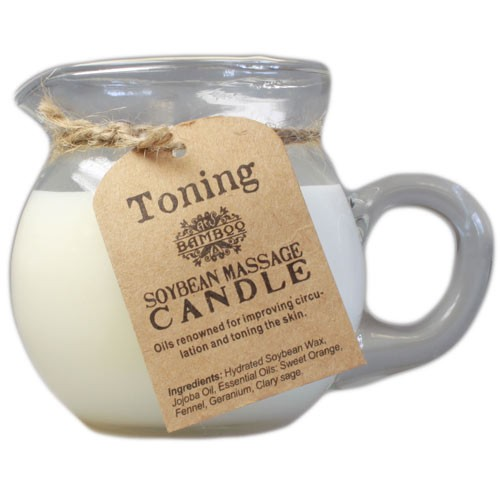 Massage Candle Toning and Firming