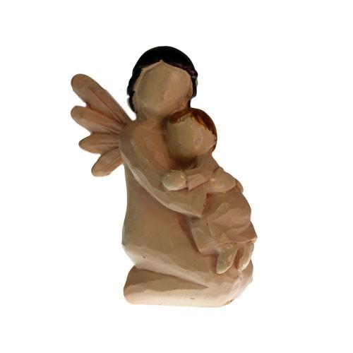 Natures Angels Kneeling  Child