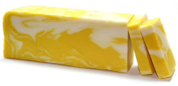 Lemon Olive Oil Soap Loaf