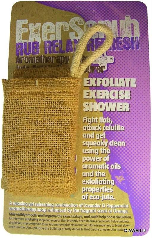ExerScrub Rub Relax Refresh