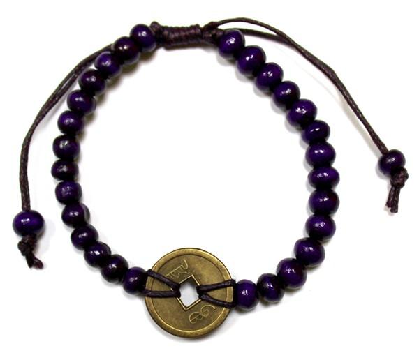Good Luck FengShui Bracelets Purple