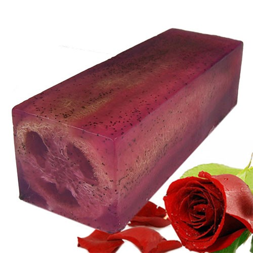 Loofah Soap Loaf Rough and Ready Rose