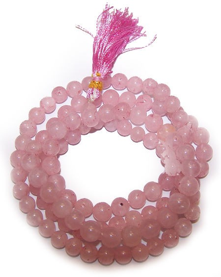 108-Bead-Mala-Rose-Quartz