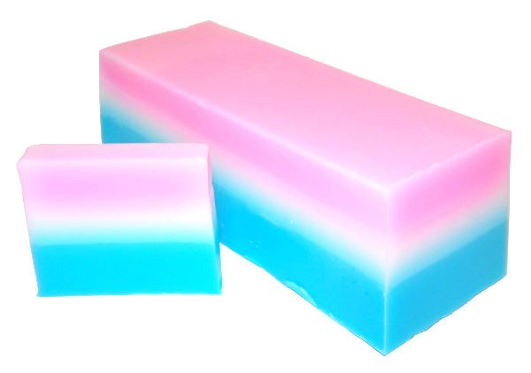 Baby Powder Soap Loaf