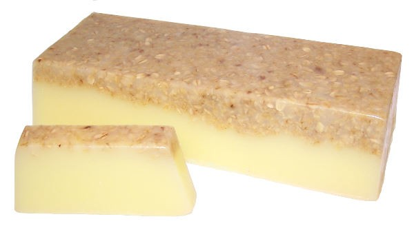 Banana and Coconut Smoothy Soap Loaf