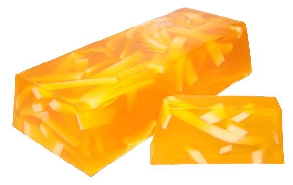 Orange Zest Soap Loaf